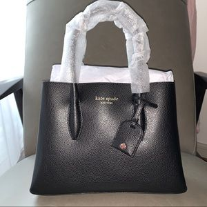 Kate Spade small leather satchel ♠️ LOVE this bag!